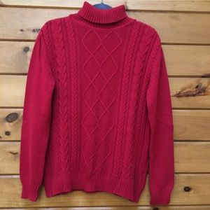 Basic Edition Red Sweater